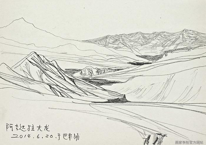 风景速写-画家李阳官方网站|国际中文网|www.huajia.